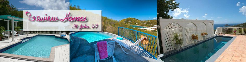 St. John Villa Rentals Seaview Homes