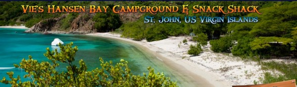 St. John Camping: Vie's Hanson Bay Campground
