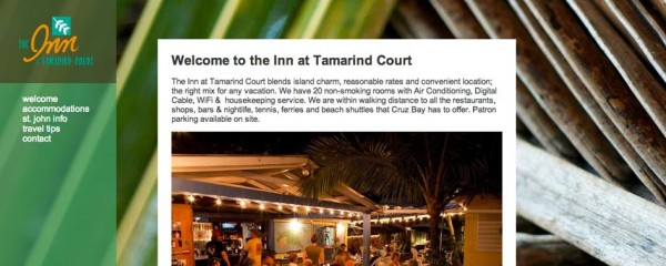 Inn at Tamarind Court, St. John