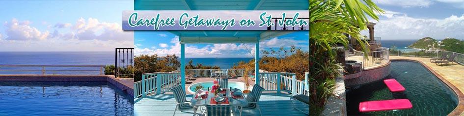 St. John Villa Rentals Carefree Getaways
