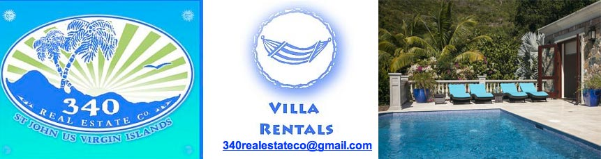 St. John Villa Rental 340 Real Estate