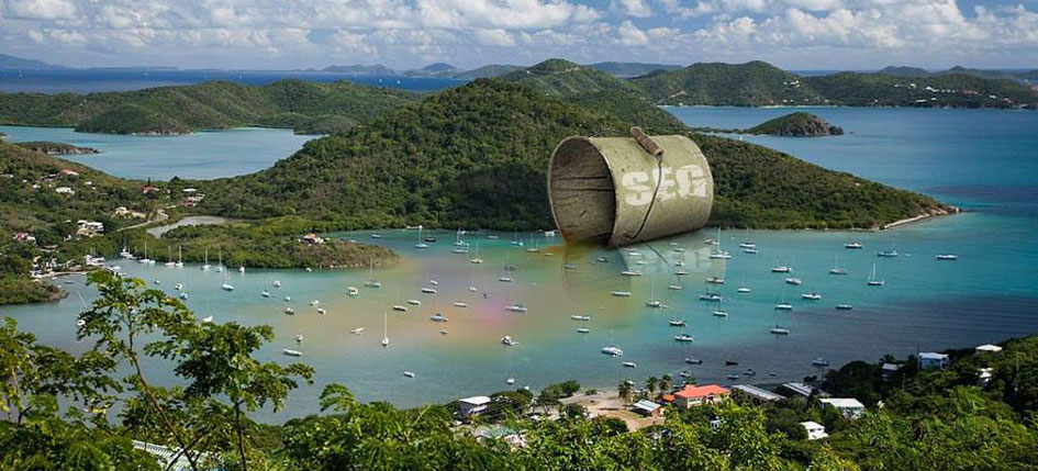 Save Coral Bay Artwork by Daniel Joel Pinto